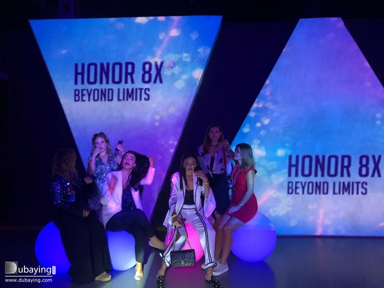 Dubaying - Events - Honor 8X MEA Launch Event